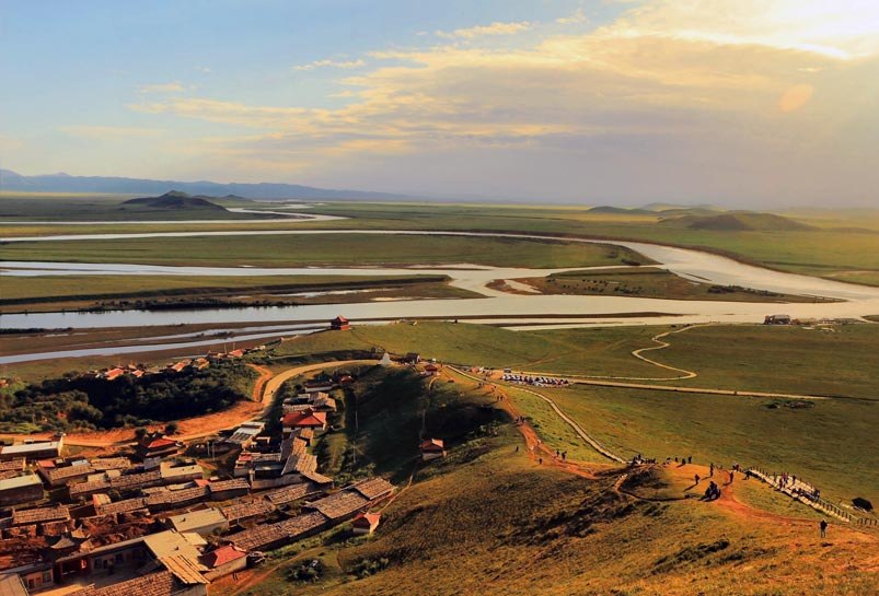 The First Bend of the Yellow River