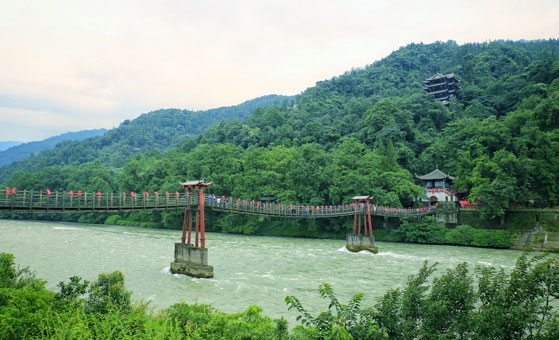 One Day Private Country Biking and Panda Tour Around Qingcheng Mountain