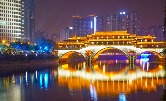 Chengdu Night View & Food Tour (18:00 - 22:00)