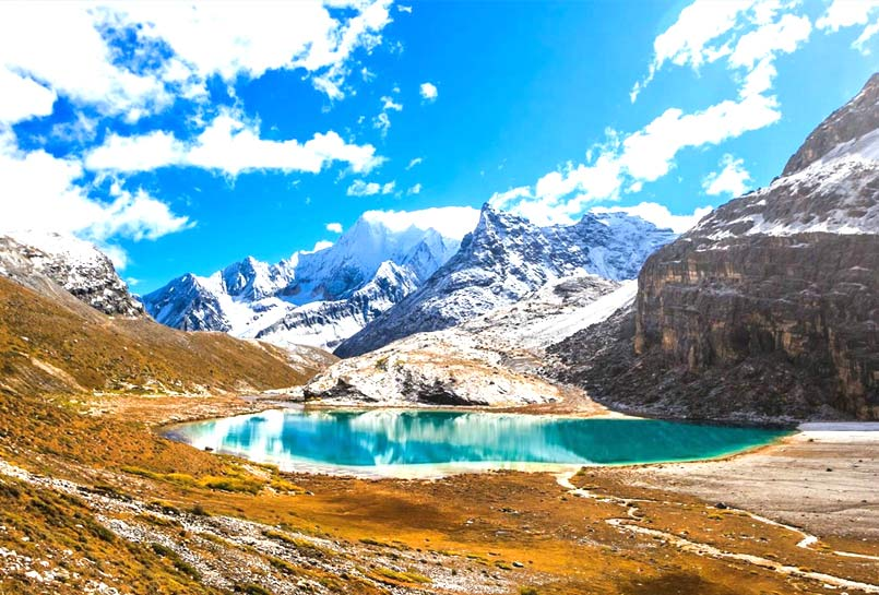 Milk Lake in Daocheng Yading National Park