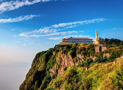 Golden Summit at Emei Mountain