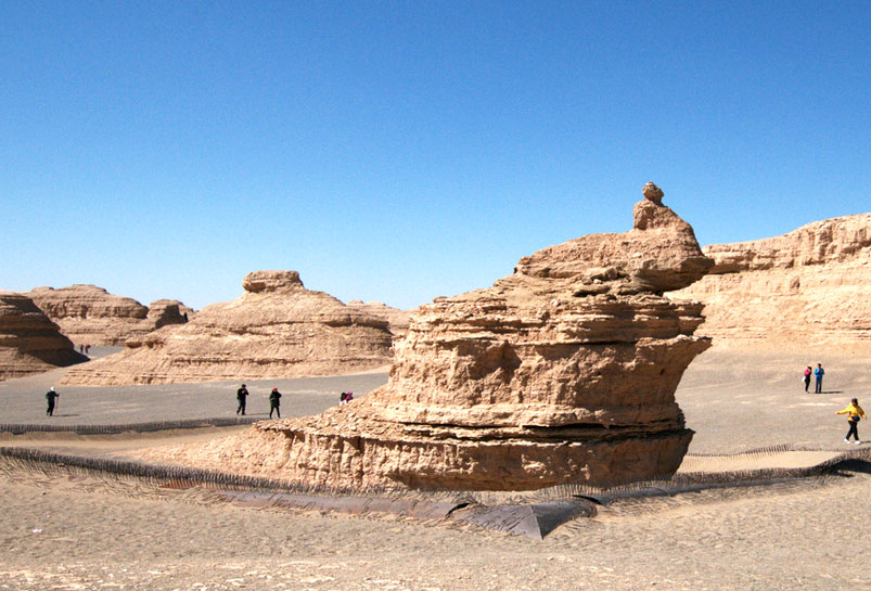 The Eroded Stone Mountains of Yadan Nation Geological Park