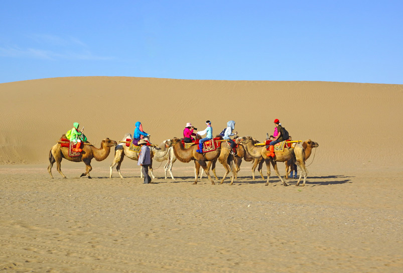 Camel Riding at Echoing Sand Mountains