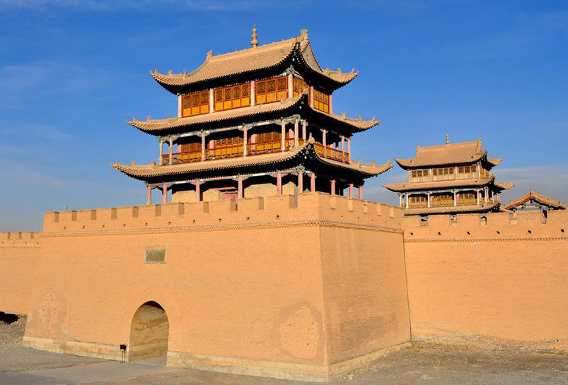 The Fort of Jiayuguan Pass