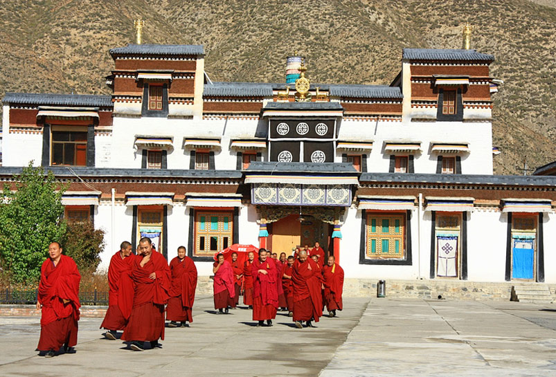 Labrang Monastery in Xiahe