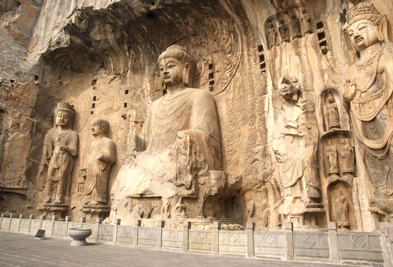 The Stone Buddha of Mogao Grottoes