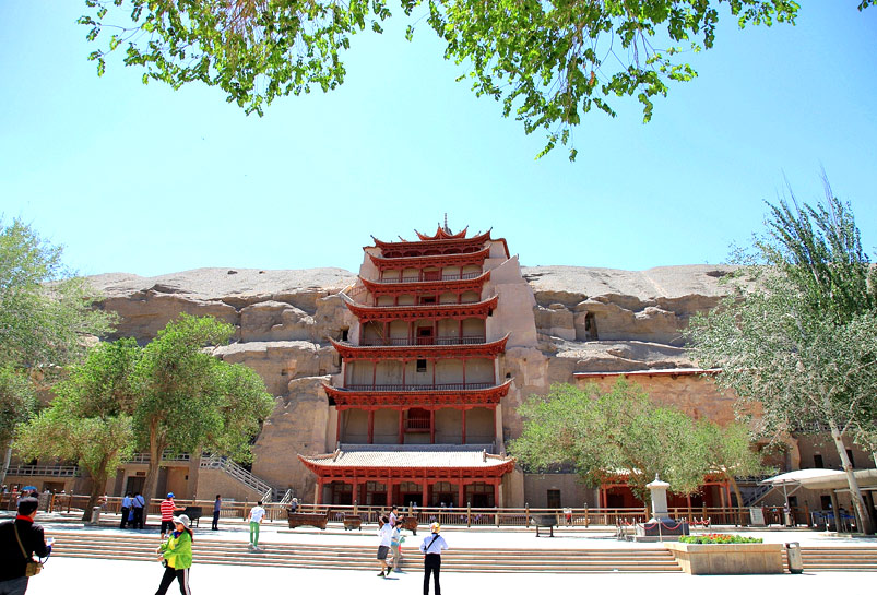 The Panorama of Mogao Grottoes