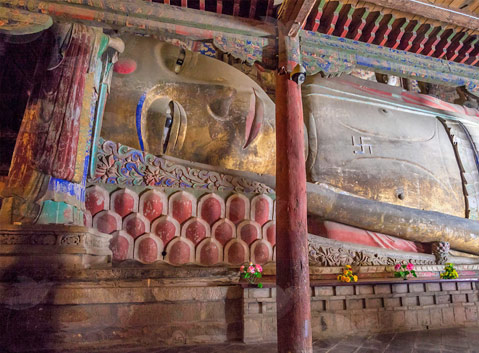 The Reclining Buddha in Giant Buddha Temple