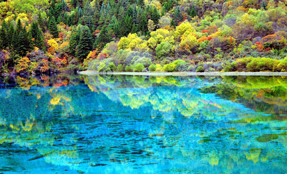 3 Days Classic Jiuzhaigou Tour from Chengdu by flight