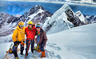 6 Days Climing the Second Summit of Four Girls Mountain