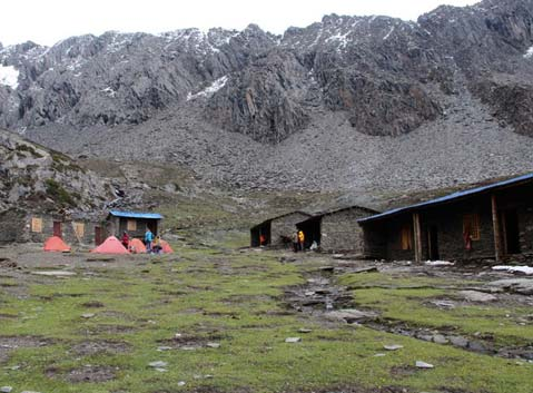 Four Girls Mountain Base Camp