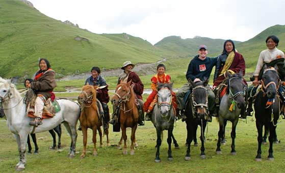 6 Days Songpan Mounigou Erdaohai Horse Riding Tour