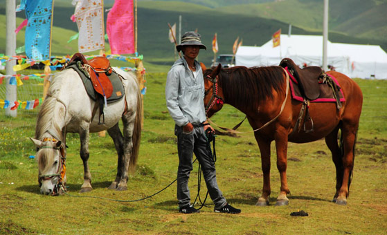 5 Days Songpan Holy Mount Huashiyan Horseback Riding and Camping Tour