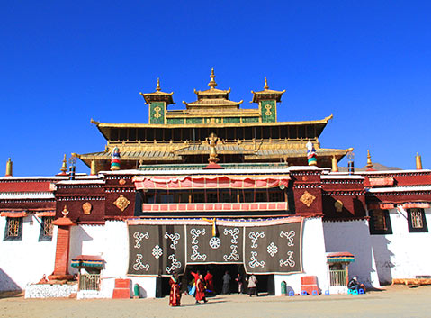 how to visit lhasa from india