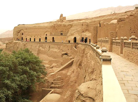 Bozeklik Thousand Buddha Caves