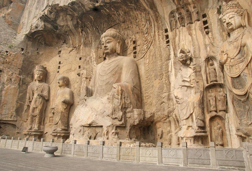 Mogao Grottoes in Dunhuang