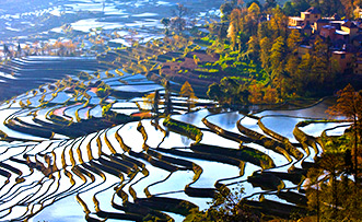 7 Days Kunming and Yuanyang Natural Beauty Tour