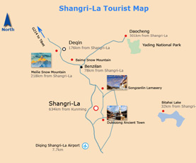 Map of Shangri-La
