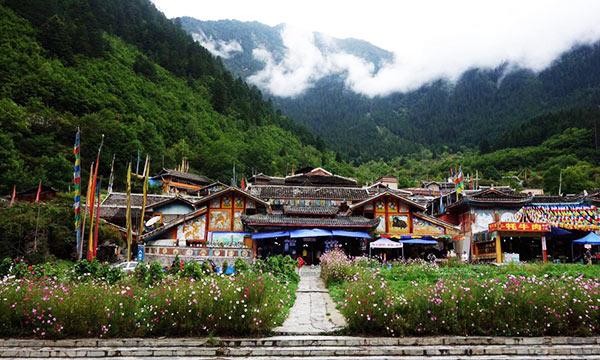 The nine Tibetan Villages