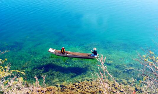 Kết quả hình ảnh cho lugu lake china