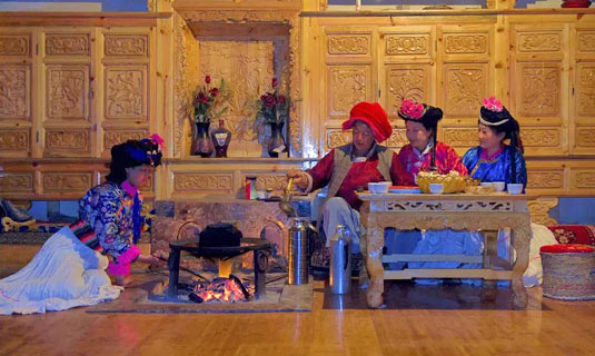 The Walk Marriage Custom of Mosuo People